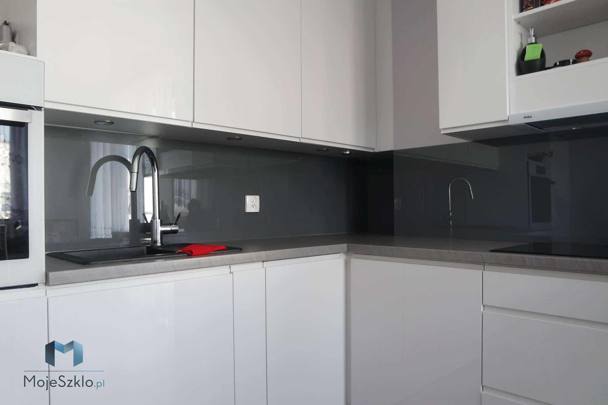 Lacobel Kolory Szary Ciemny - Lacobel kolory. Wzornik dostępnych odcieni