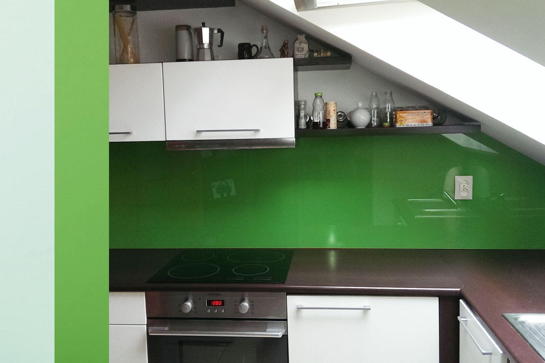 Lacobel Kolory Zielony - Szkło lacobel - grupy kolorów i przegląd realizacji