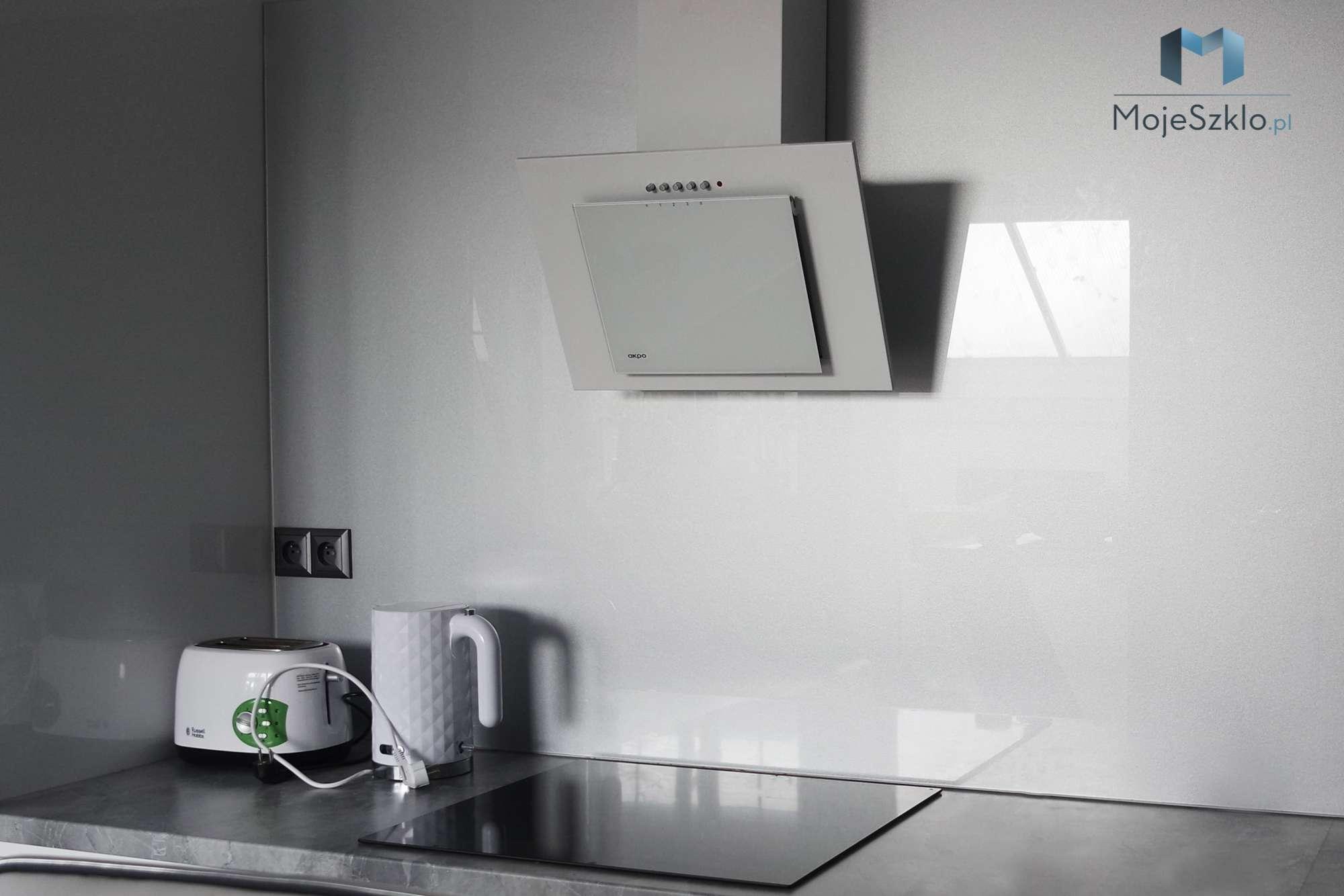 Lacobel Kuchnia Intensywne Aluminium 9007