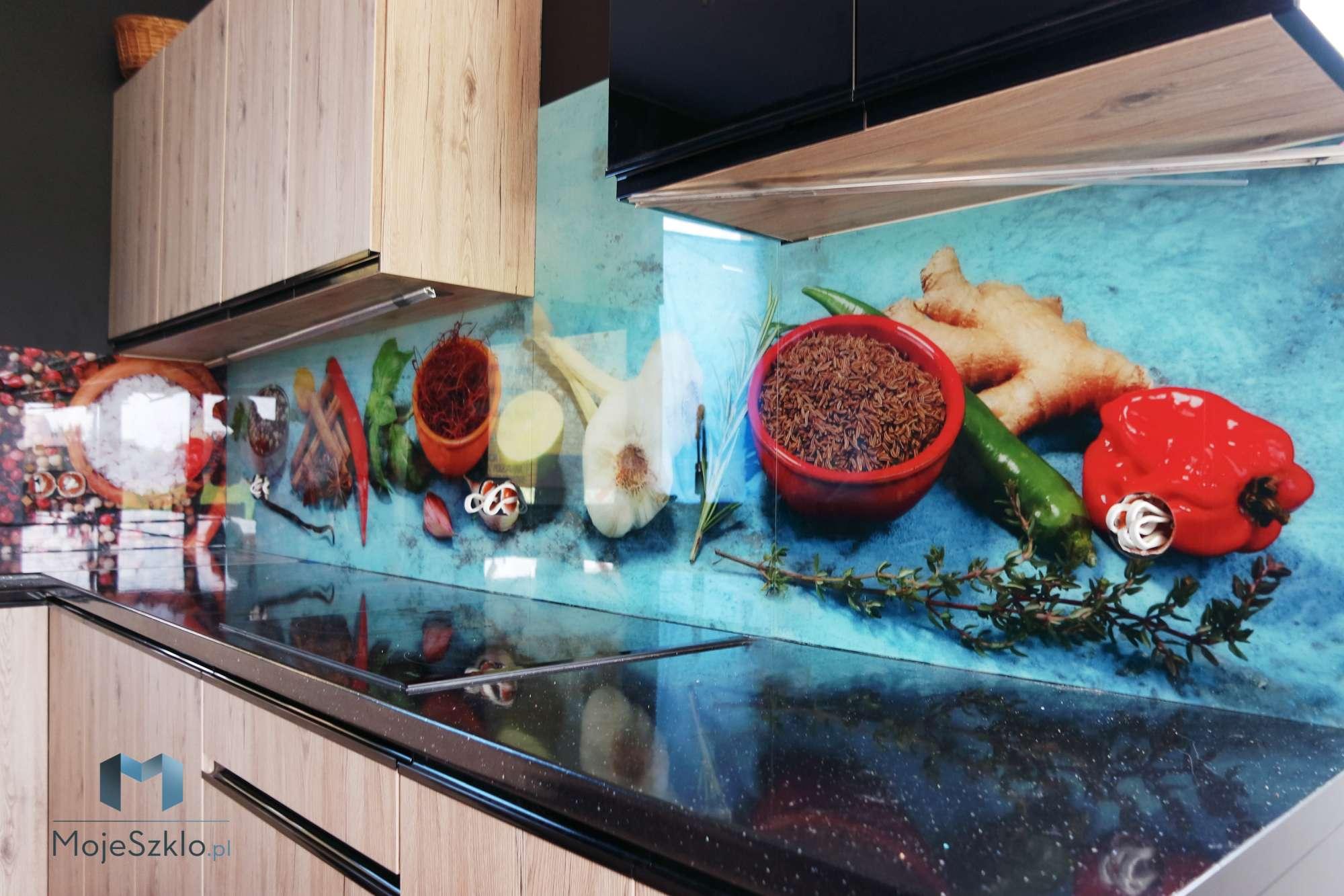 Lacobel Wzory Przyprawy - Panel szklany plaża, krajobraz morski