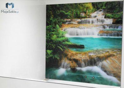 Lacobel Wzory Szyba Wodospad
