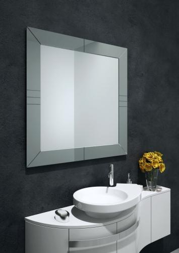 Lustra Dekoracyjne Look Black Pearl - Lustro w ramie I Ramy aluminiowe, drewniane, lustrzane