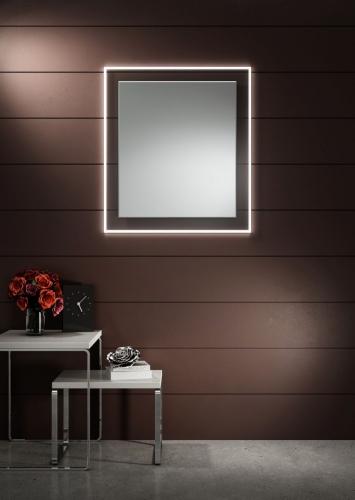 Lustro Do Lazienki Lumineo Alfa - Lustro LED. Lustra na wymiar z oświetleniem