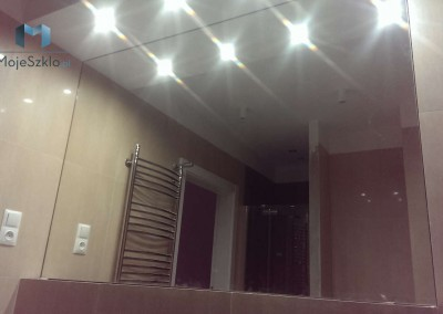 Lustro Lazienkowe Oswietlenie Punktowe Sufit
