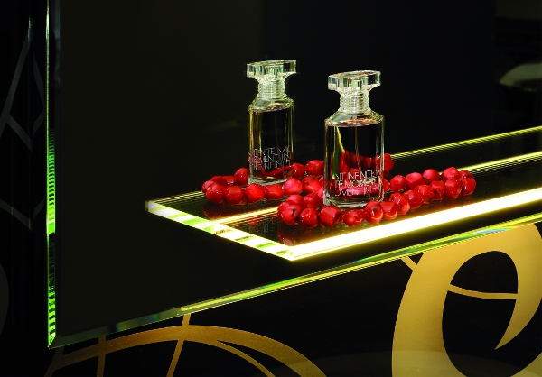 Lustro Lazienkowe z Oswietleniem LED Do Lazienki Polka Szklana Paris 2 - Lustra na wymiar z oświetleniem
