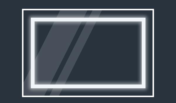 Lustro Led Moje Szklo - Lustro LED. Lustra na wymiar z oświetleniem
