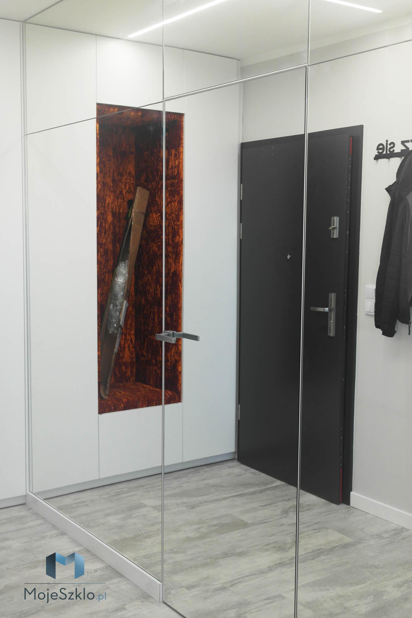 Lustro Na Cala Sciane Przedpokoj - Lustro na całą ścianę. Duże lustra do wnętrz