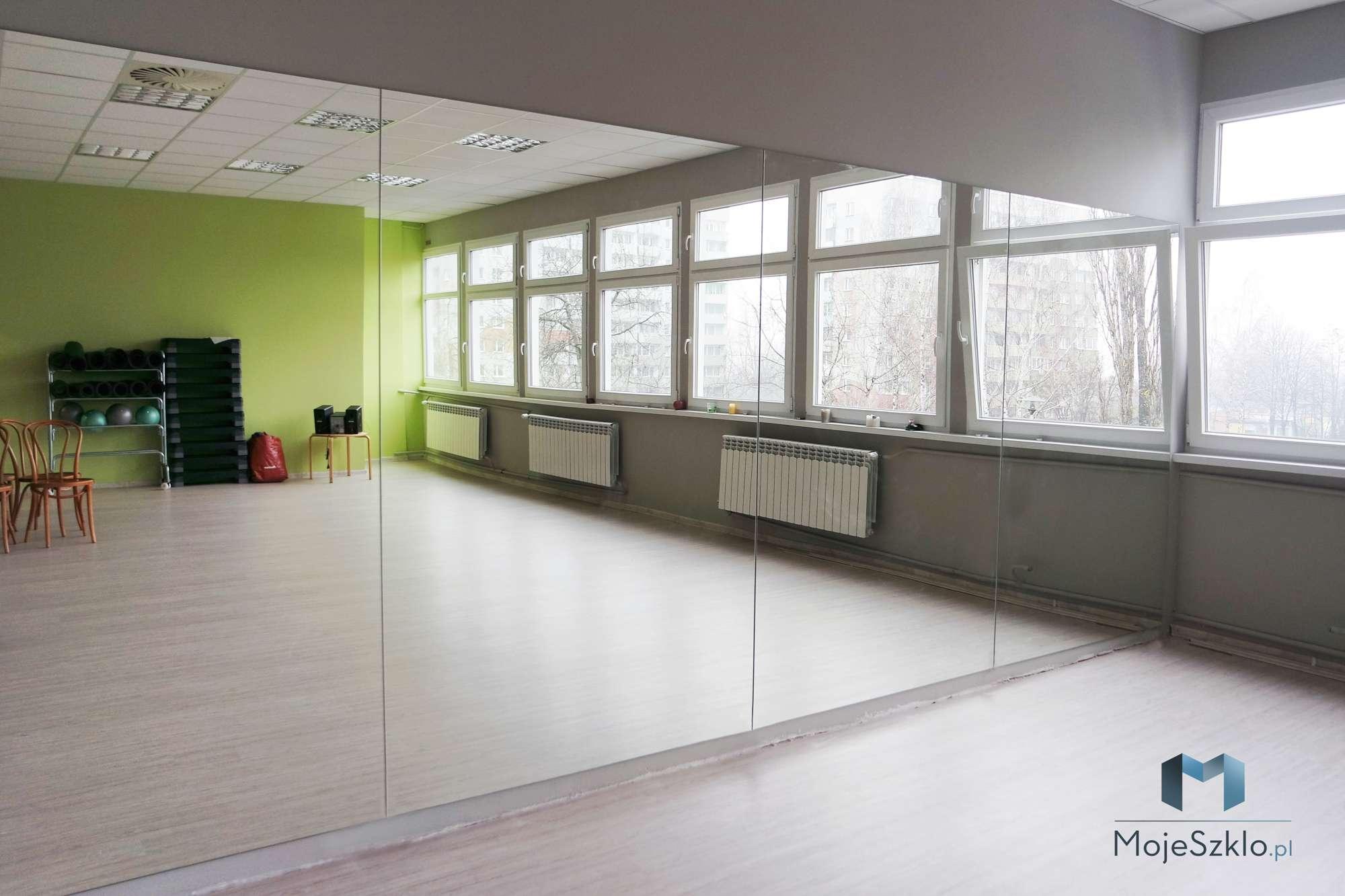 Lustro Na Sciane Fitness Krakow - Lustro na całą ścianę. Duże lustra do wnętrz