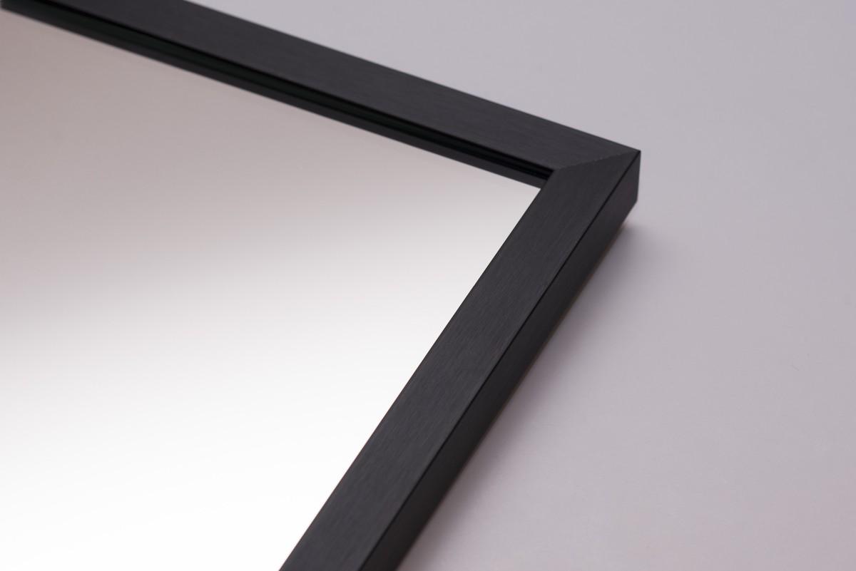 Lustro W Czarnej Ramie 19x21