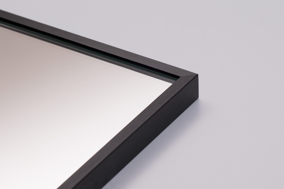 Lustro W Czarnej Ramie 8x21
