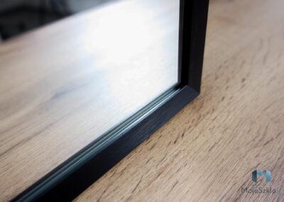 Lustro W Czarnej Ramie 19mm