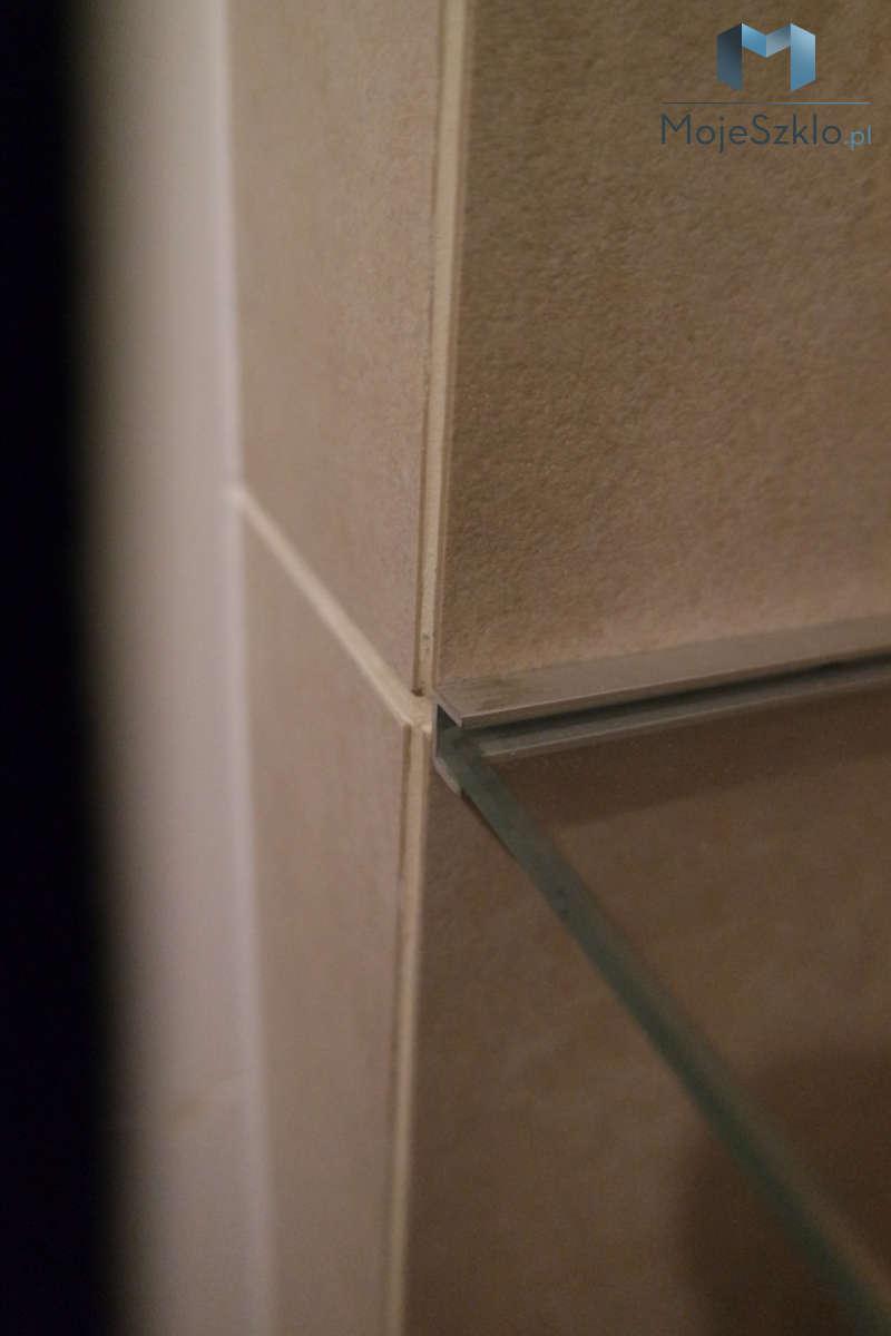 Mocowanie Polek Szklanych Do Sciany Profil Aluminiowy - Szklane półki czyli ozdobny element do łazienki i salonu