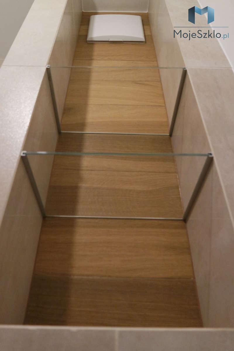 Mocowanie Polek Szklanych Do Sciany Profil - Szklane półki czyli ozdobny element do łazienki i salonu