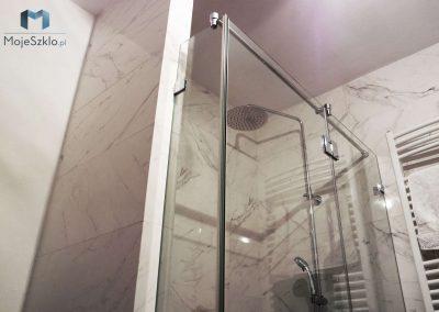 Nowoczesna Prysznic Trzyelementowy