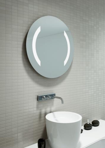 Nowoczesne Lustro Okragle Kallisto - Lustro okrągłe. Efektowna dekoracja wnętrza