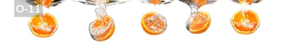 Panele-Szklane - owoce O11
