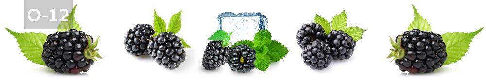 Panele-Szklane - owoce O12