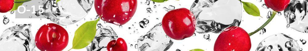 Panele-Szklane - owoce O15