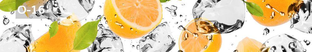 Panele-Szklane - owoce O16