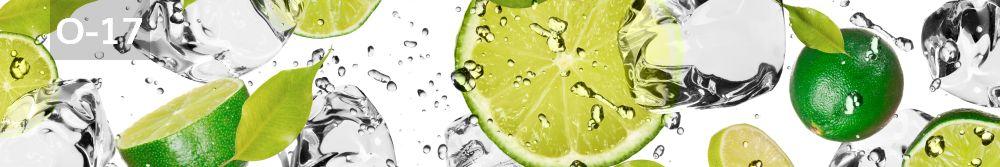 Panele-Szklane - owoce O17