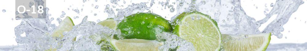Panele-Szklane - owoce O18