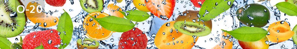 Panele-Szklane - owoce O20