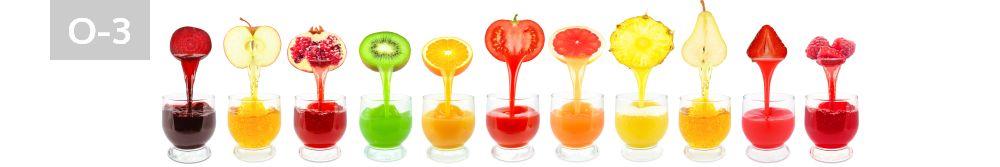 Panele-Szklane - owoce O3