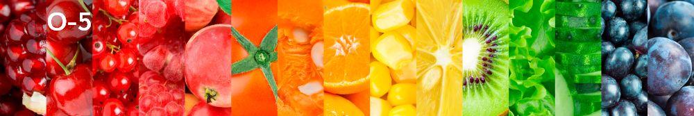 Panele-Szklane - owoce O5