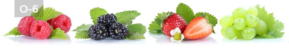 Panele-Szklane - owoce O6