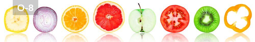 Panele-Szklane - owoce O8