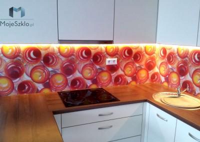 Oswietlenie Led Szklany Panel Dekoracyjny