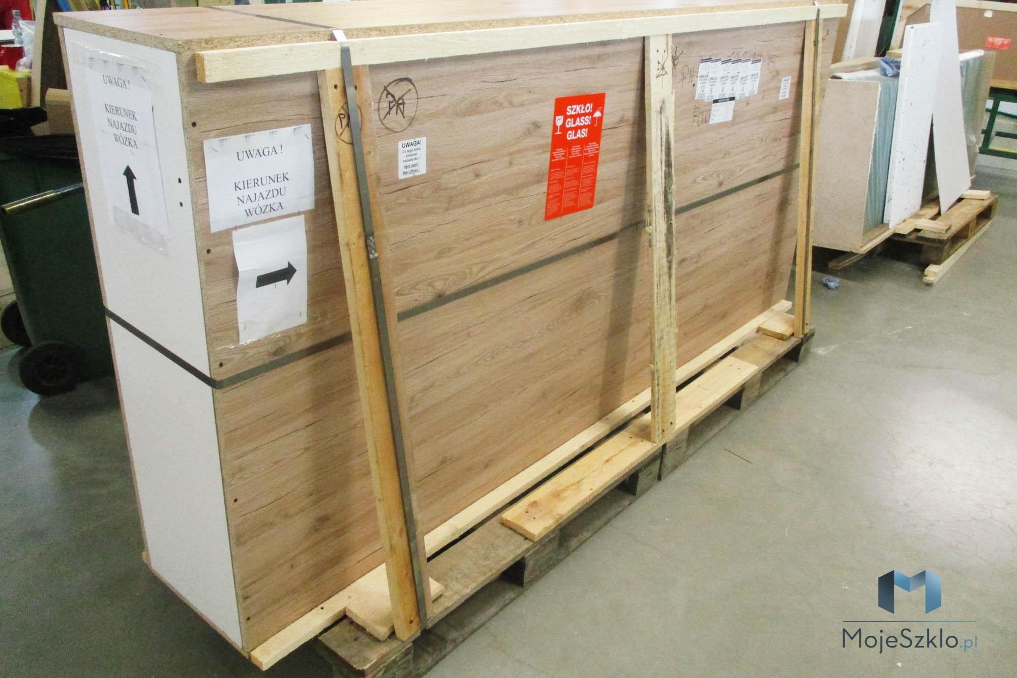 Pakowanie Kabiny Do Wysylki