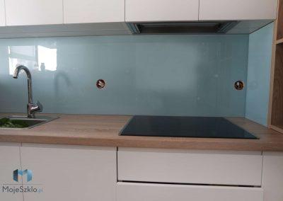 Panel Szklany Do Kuchni Niebieski
