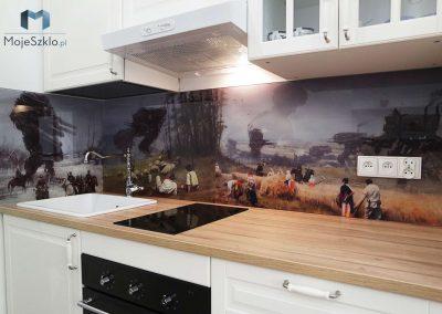 Panel Szklany Do Kuchni Rozalski