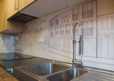 Panel Szklany Do Kuchni Rysunek