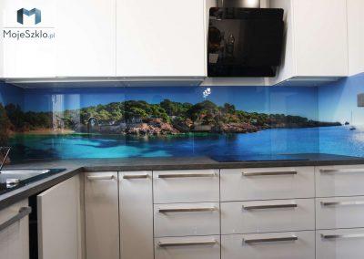 Panel Szklany Do Kuchni Wybrzeze