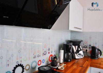 Panel Szklany Do Kuchni Zebatka