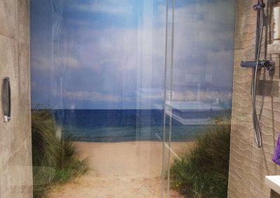 Panel Szklany Grafika Kabina