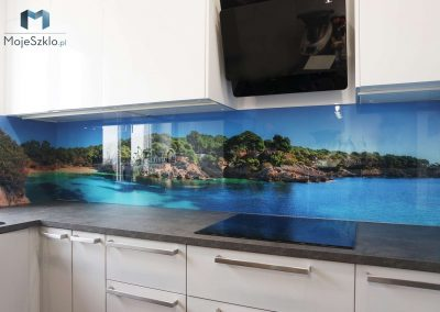 Panel Szklany Kuchnia Wybrzeze