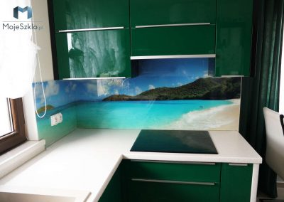Panel Szklany Ocean