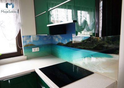 Panel Szklany Ocean Plaza