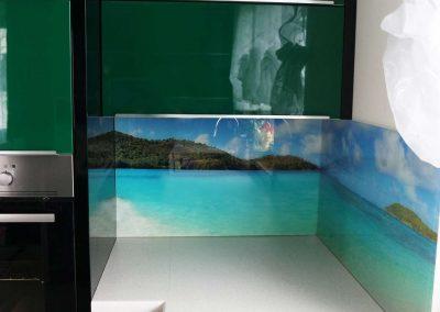 Panel Szklany Plaza Ocean