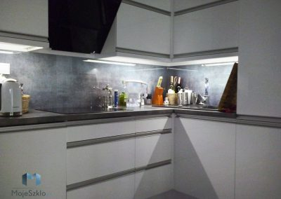 Panele Szklane Do Kuchni Metal