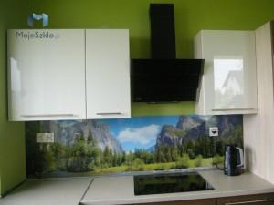 Panele Szklane Szklo Kuchnia Obrazy Na Szkle Plytki Szklane Gory