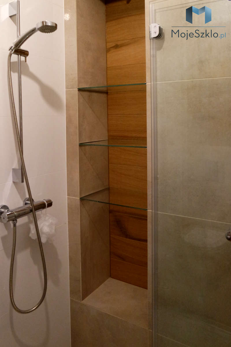 Polki Szklane Do Kabiny Prysznicowej - Szklane półki czyli ozdobny element do łazienki i salonu