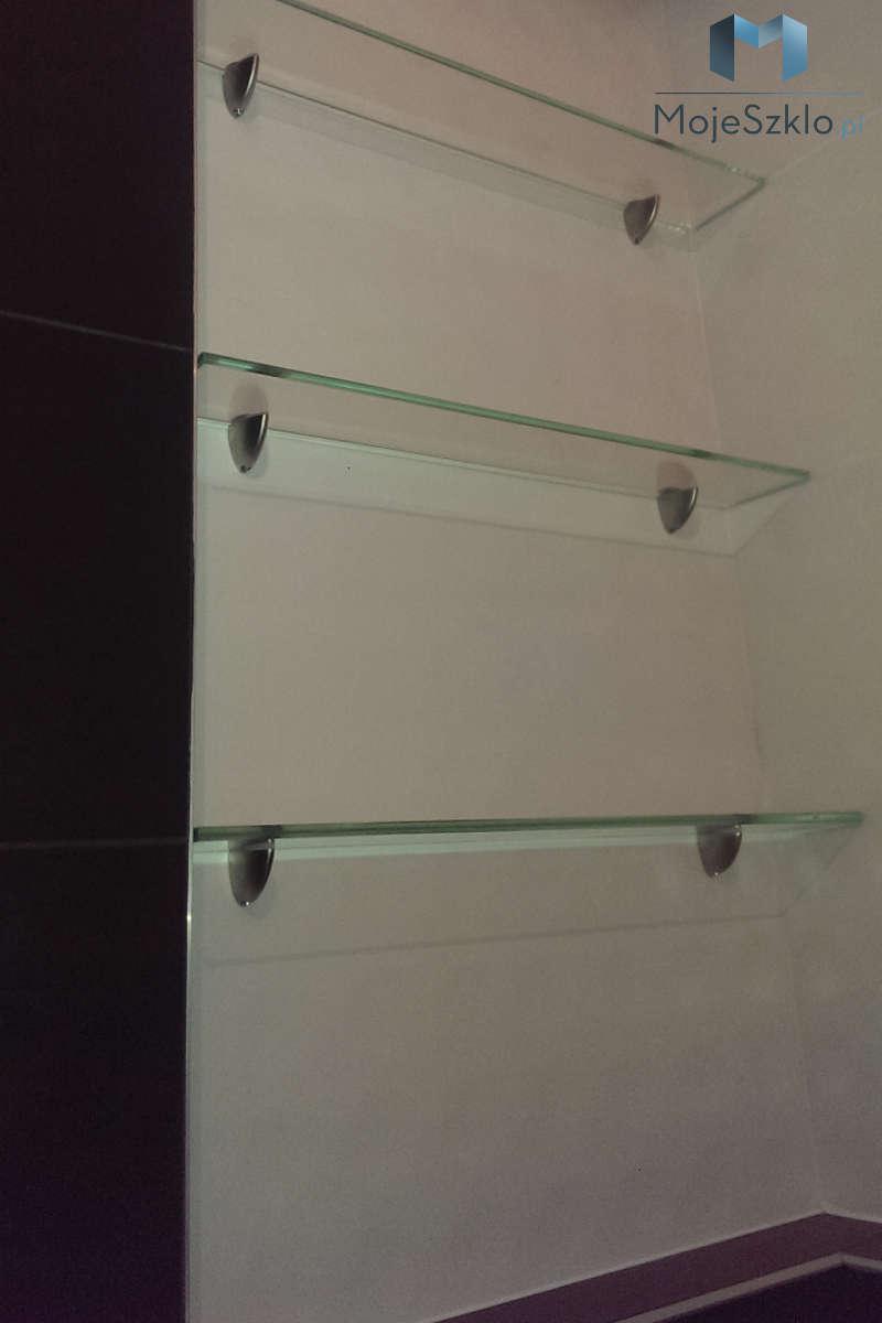 Półki Do łazienki Szkło Hartowane