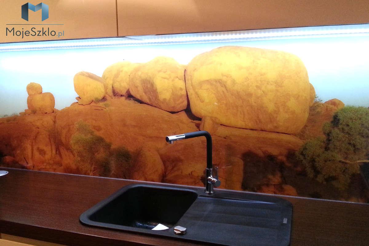 Pomysl Na Kuchnie Grafika Na Szkle - Szklane panele z grafiką