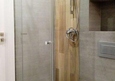 Prysznic Bez Brodzika Trojelementowy