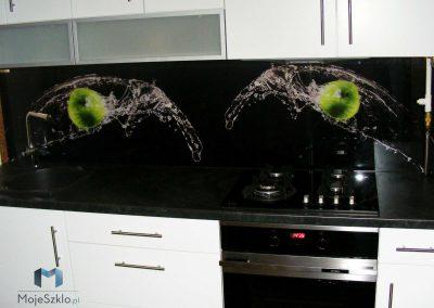 Szkło Ozdobne Kuchnia Jabłka