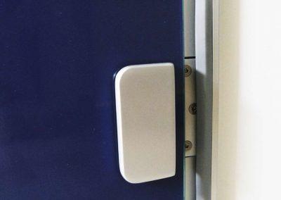 Szklane Drzwi Z Grafika Okucia